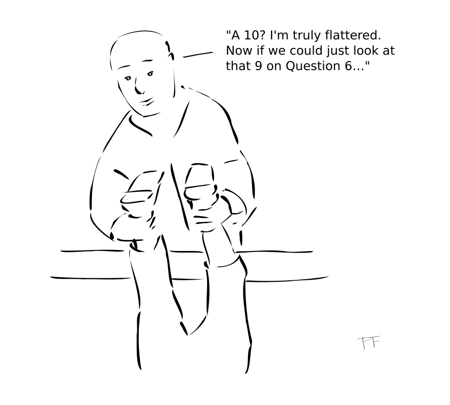 Cheating on surveys