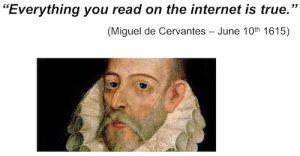 Cervantes internet