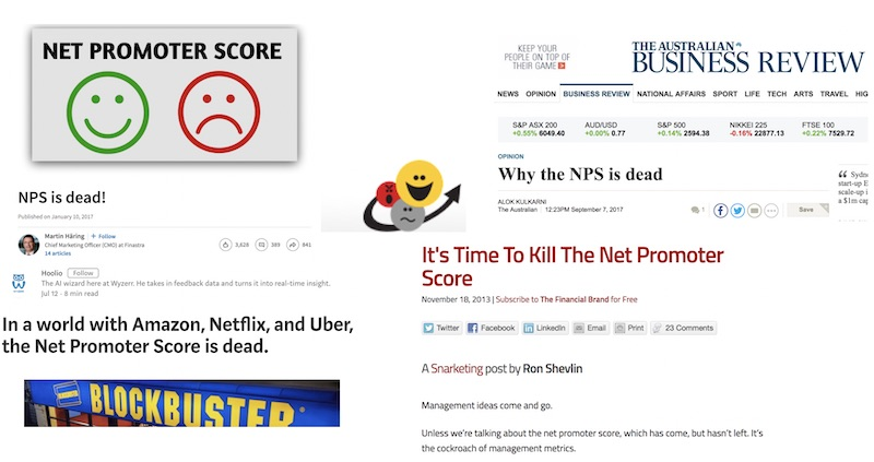 NPS is dead - Long live NPS