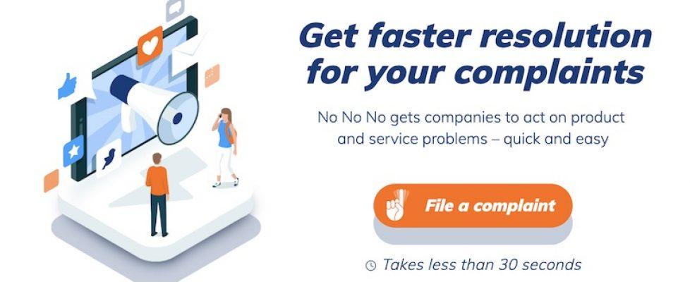 Feature image for No No No complaints blog