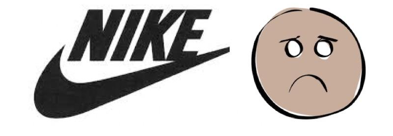 Nike unhappy 800
